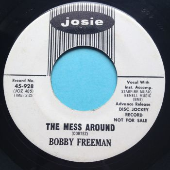 Bobby Freeman - The mess around - Josie promo - Ex