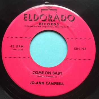 Jo-Ann Campbell - Come on baby - Eldorado - VG+