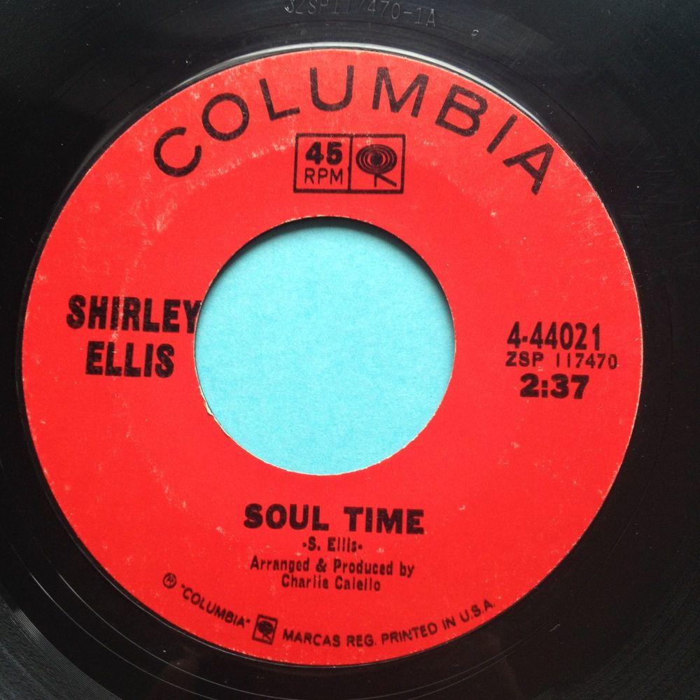 Shirley Ellis - Soul Time - Columbia - Ex-