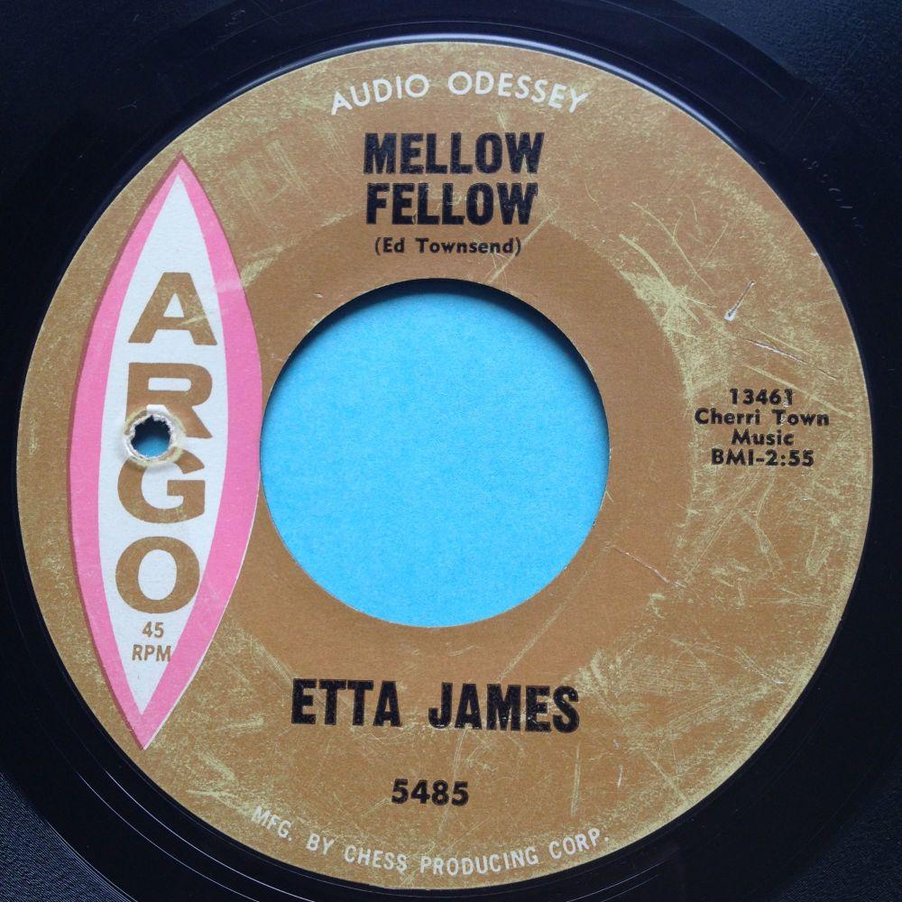 Etta James - Mellow Fellow - Argo - VG+