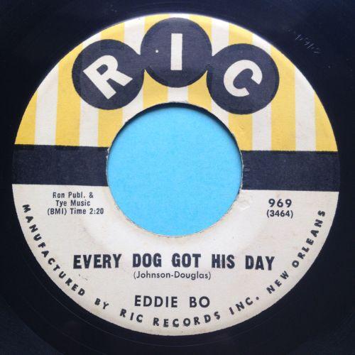 Eddie Bo - Every dog got his day - RIC - VG+