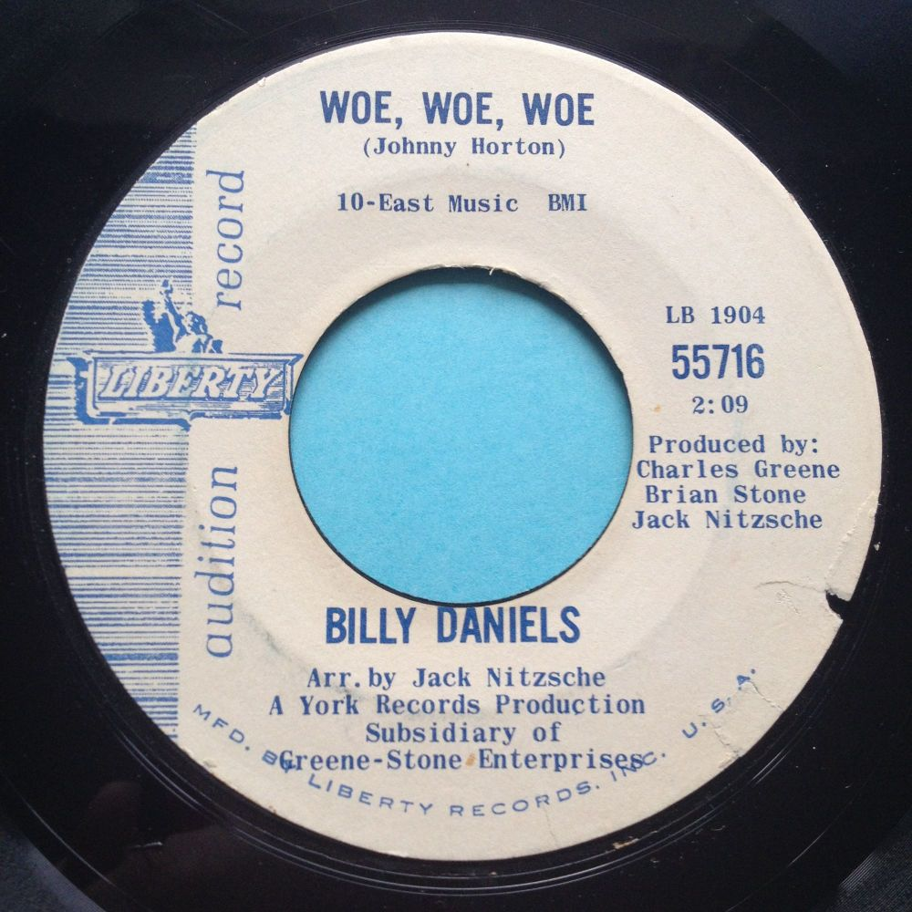 Billy Daniels - Woe Woe Woe - Liberty - Ex-
