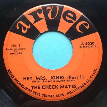 Check Mates - Hey Mrs. Jones - Arvee - Ex-