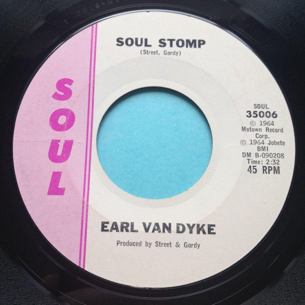 Earl Van Dyke - Soul Stomp - Soul - Ex-