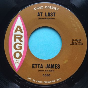 Etta James - At Last - Argo - Ex