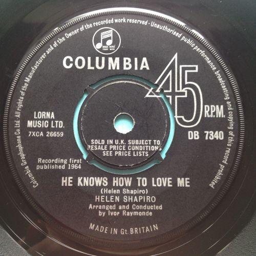 Helen Shapiro - He knows how to love me - U.K. Columbia - Ex