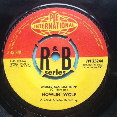 Howlin' Wolf - Smokestack Lightnin' - U.K. Pye International R&B Series - E