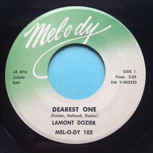 Lamont Dozier - Dearest One b/w Fortune Teller Tell Me - Mel-o-dy - Ex