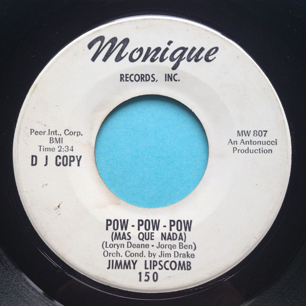 Jimmy Lipscomb - Pow Pow Pow - Monique promo - Ex-