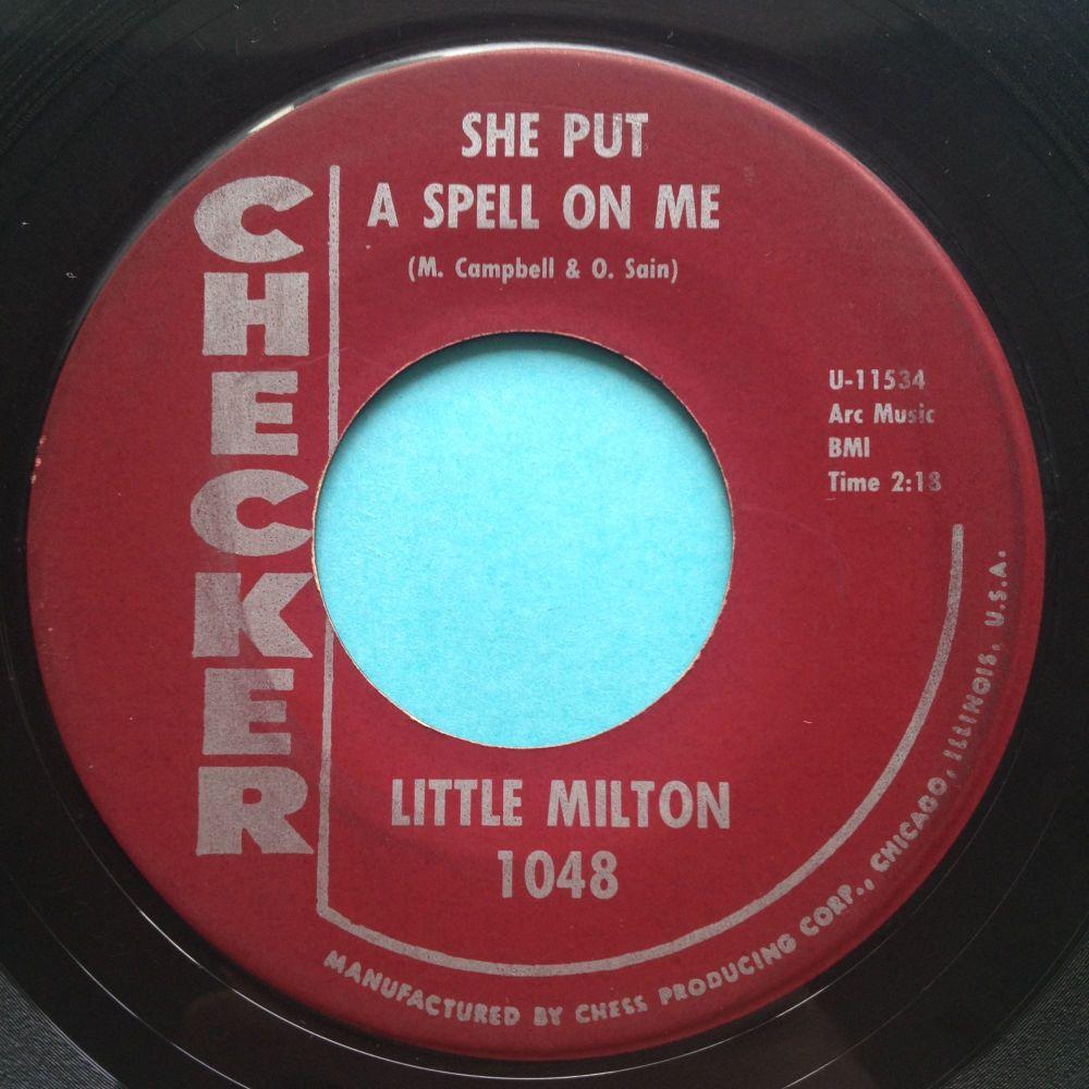 Little Milton - She put a spell on me - Checker - Ex-