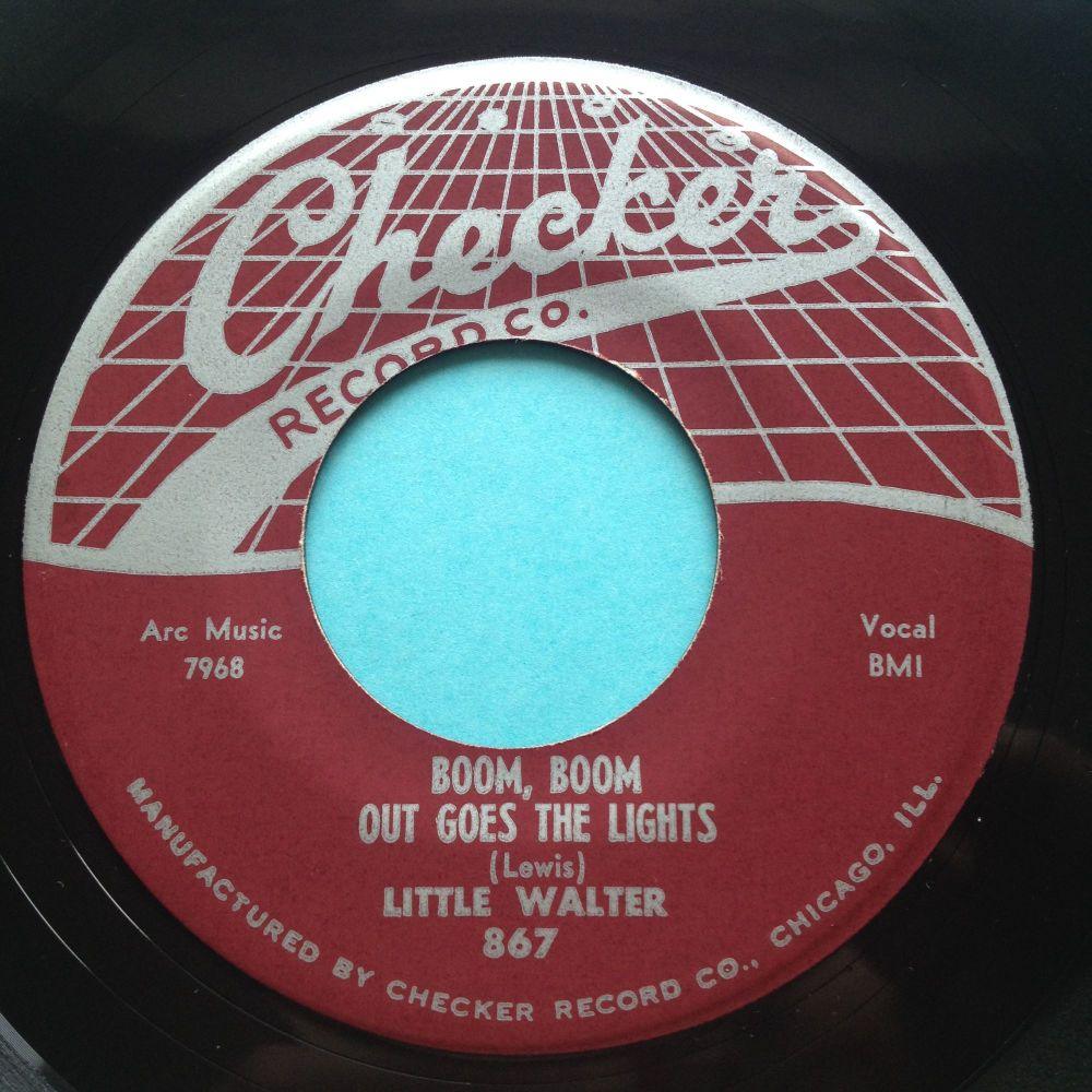 Little Walter - Boom Boom, Out Goes The Lights - Checker - Ex