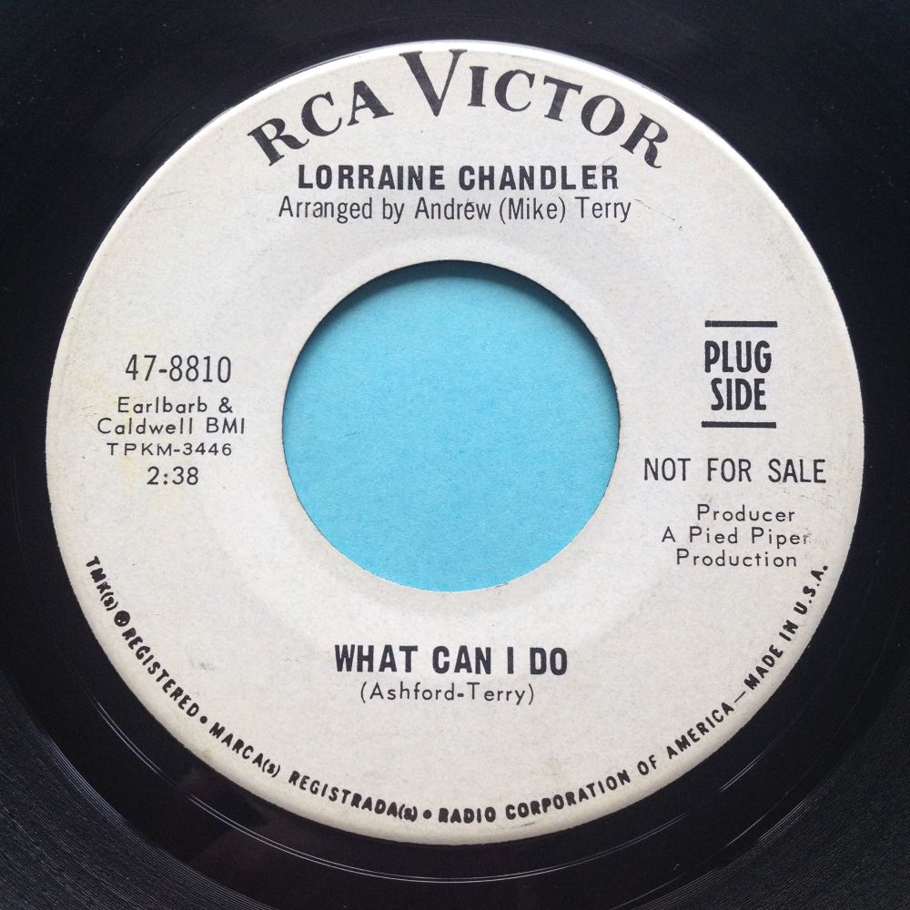 Lorraine Chandler - Tell me you're mine - RCA promo - Ex
