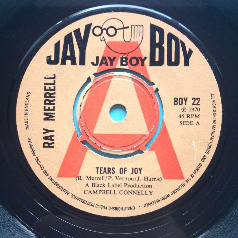 Ray Merrell - Tears of Joy - Jay Boy demo (U.K.) - Ex-
