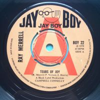 Ray Merrell - Tears of Joy - Jay Boy demo (U.K.) - Ex-
