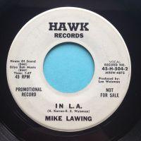 Mike Lawing - In L.A. - Hawk promo - Ex-