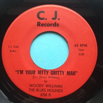 Woody Williams - I'm your nitty gritty man - If you need love - CJ - Ex