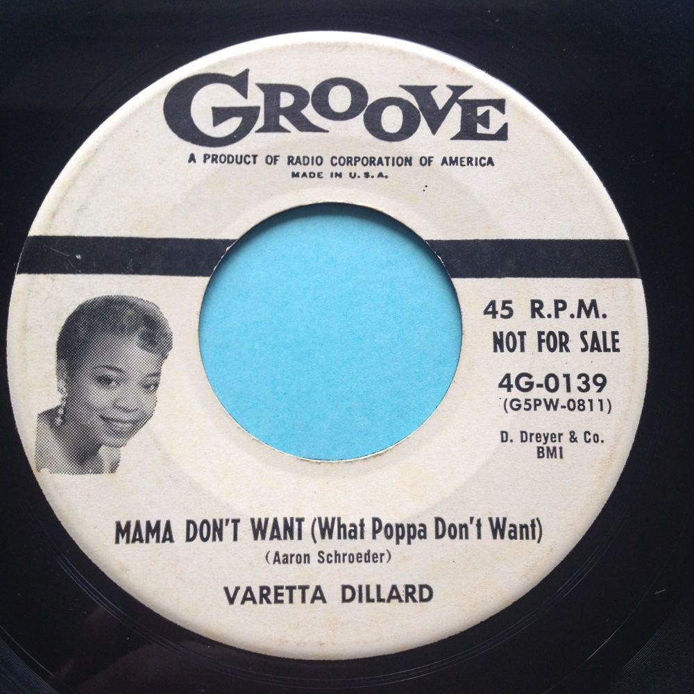 Varetta Dillard - Mama don't want (What Poppa don't want) - Groove promo -