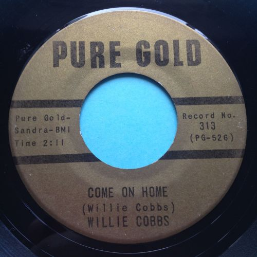 Willie Cobbs - Come on home - Pure Gold - VG+