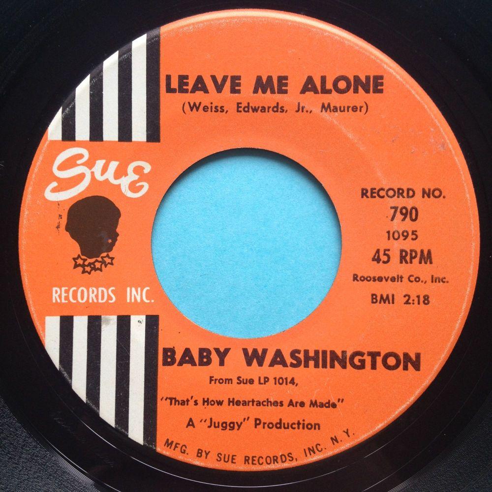 Baby Washington - Leave me alone - Sue - Ex
