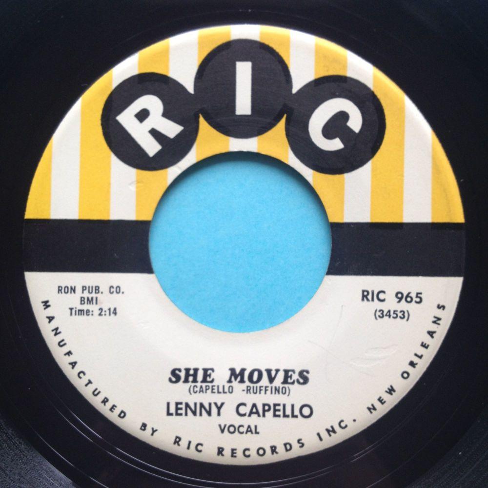 Lenny Capello - She moves - Ric - Ex