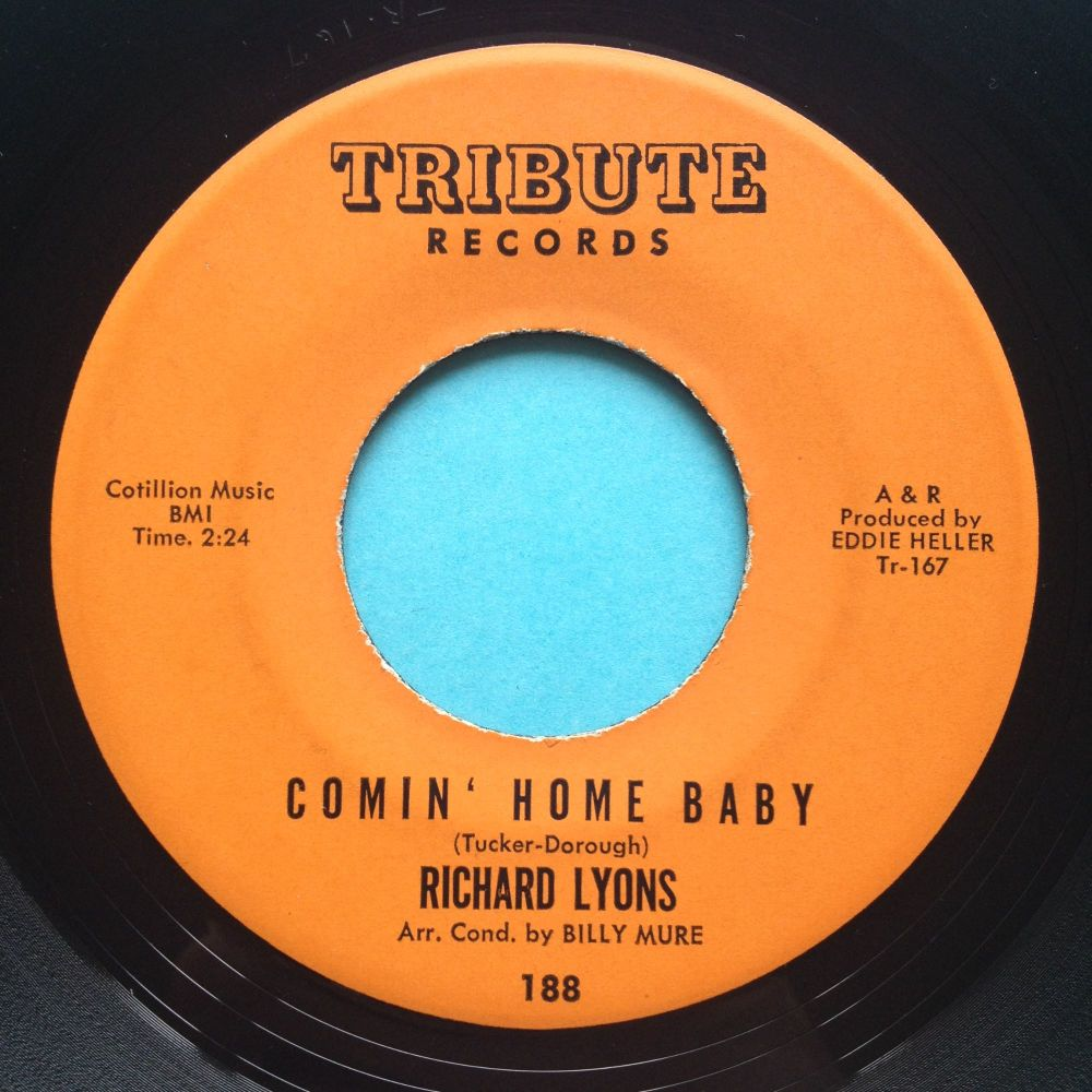 Richard Lyons - Comin' home baby - Tribute - Ex (wol)