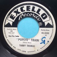 Tabby Thomas - Popeye Train - Excello promo - VG+