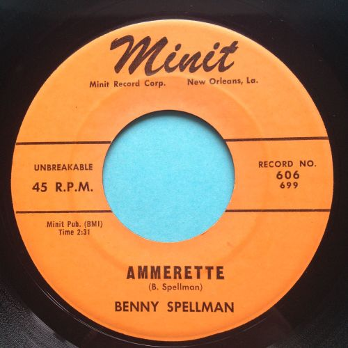 Benny Spellman - Ammerette - Minit - Ex