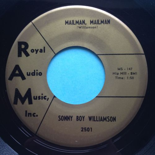 Sonny Boy Williamson - Mailman, mailman - RAM - Ex