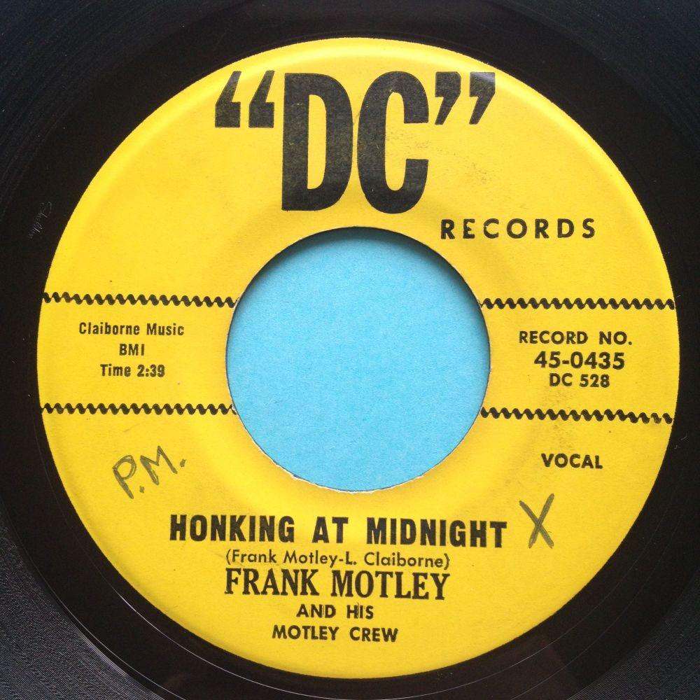 Frank Motley - Honking at midnight - DC - Ex-