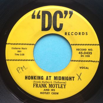 Frank Motley - Honking at midnight - DC - Ex-