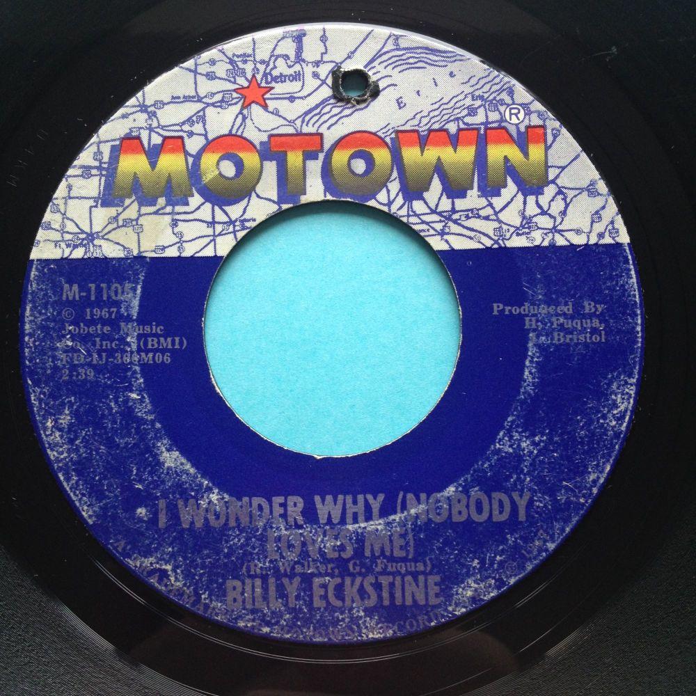 Billy Eckstine - I wonder why - Motown - VG+