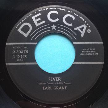 Earl Grant - Fever - Decca - Ex