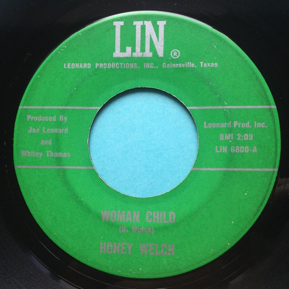 Honey Welch - Woman Child - Lin - VG+ (lots of light surface marks nap)