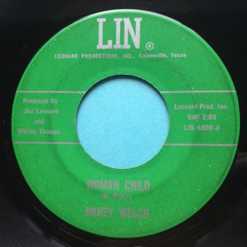 Honey Welch - Woman Child - Lin - VG+ (lots of light surface marks)