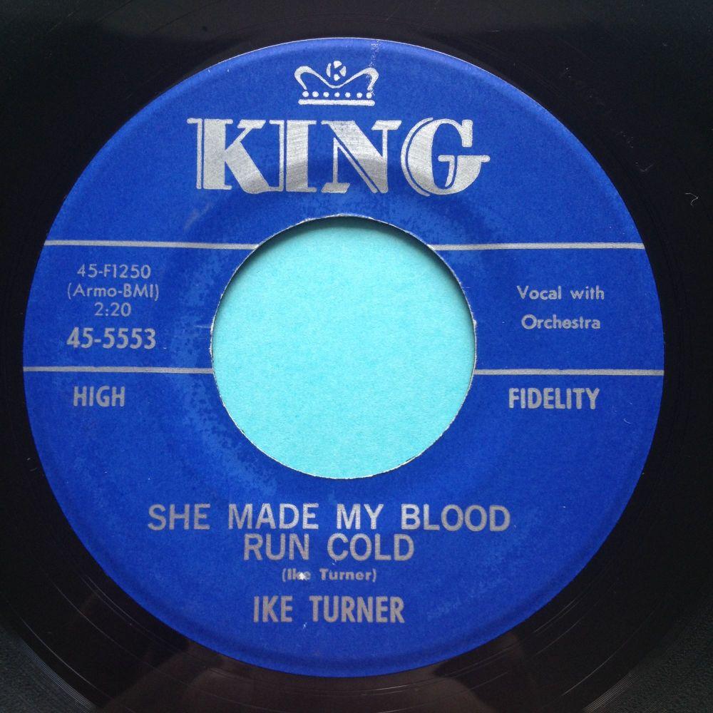 Ike Turner - She mad my blood run cold - King - Ex-
