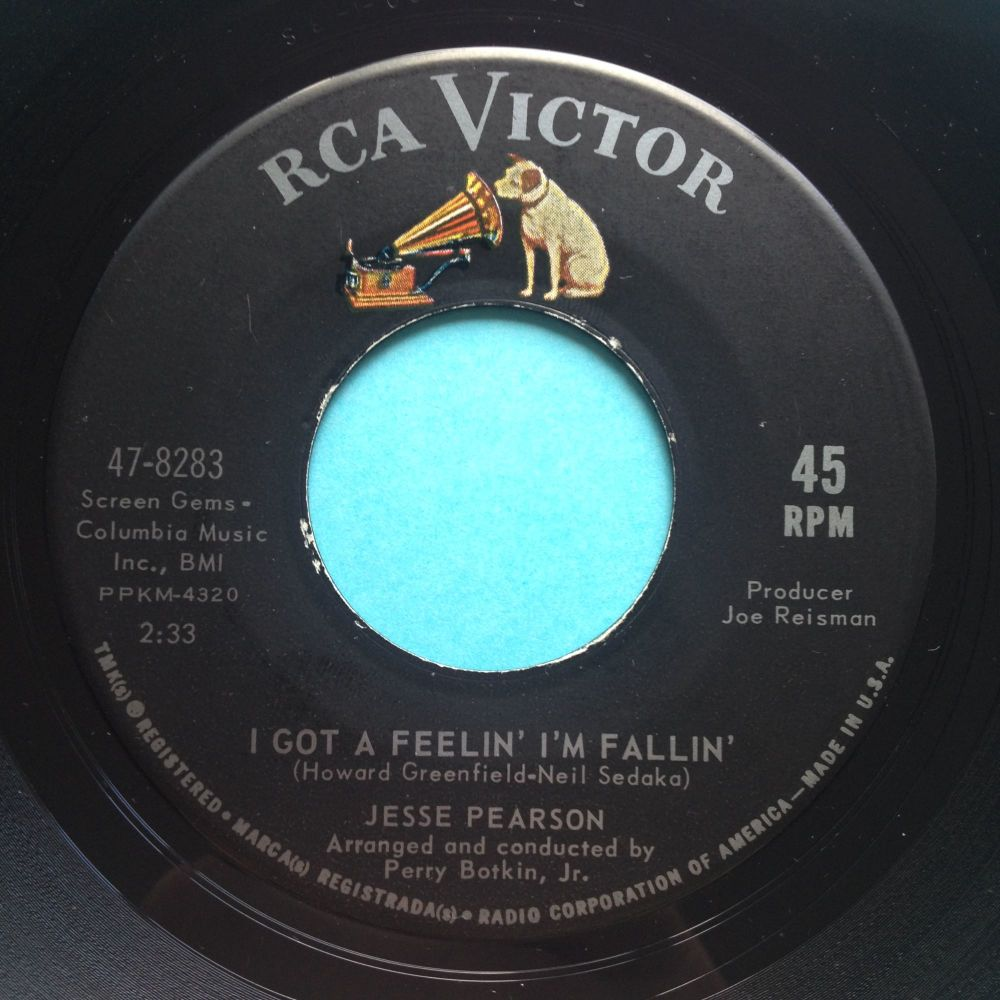 Jesse Pearson - I got a feelin' I'm fallin' - RCA - Ex