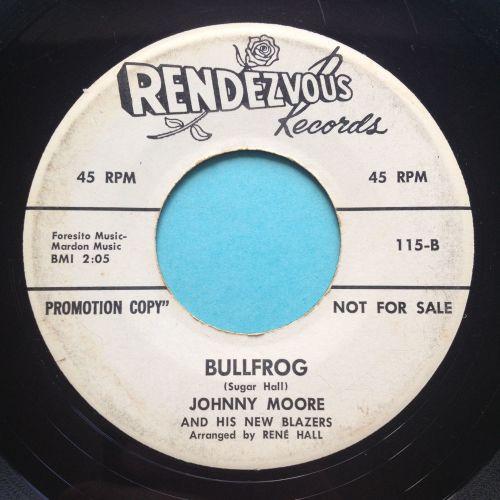 Johnny Moore - Bullfrog - Rendezvous promo - VG+