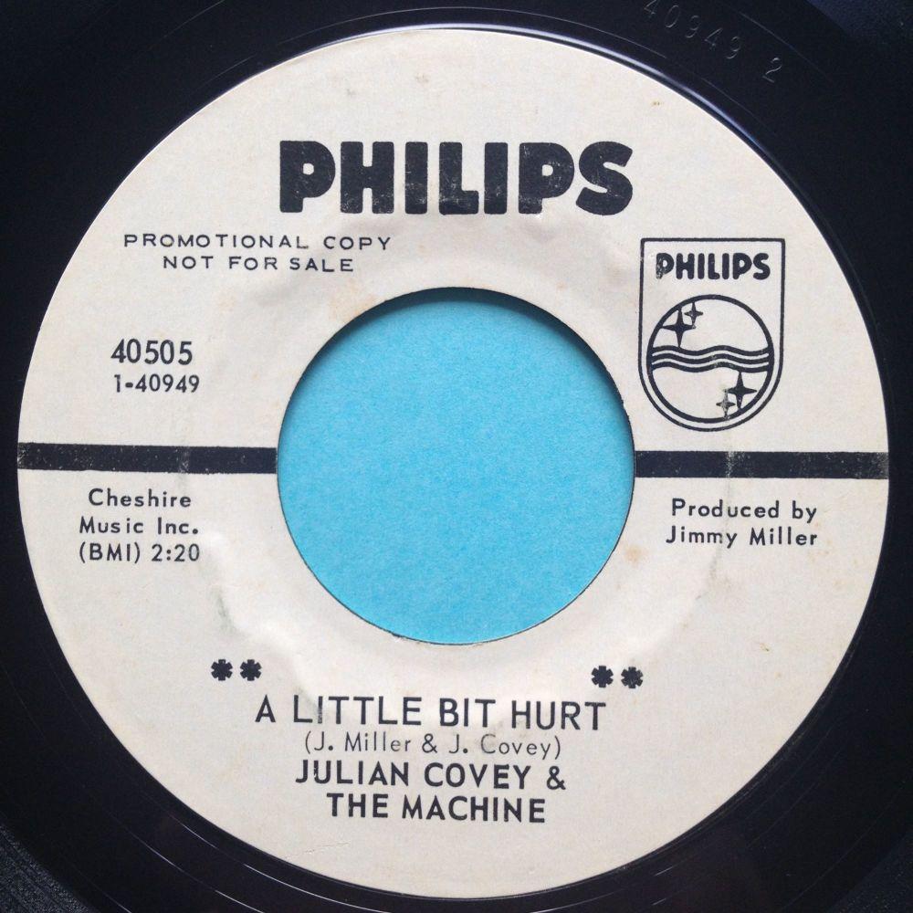 Julian Covey & The Machine - A little bit hurt - Philips promo - Ex