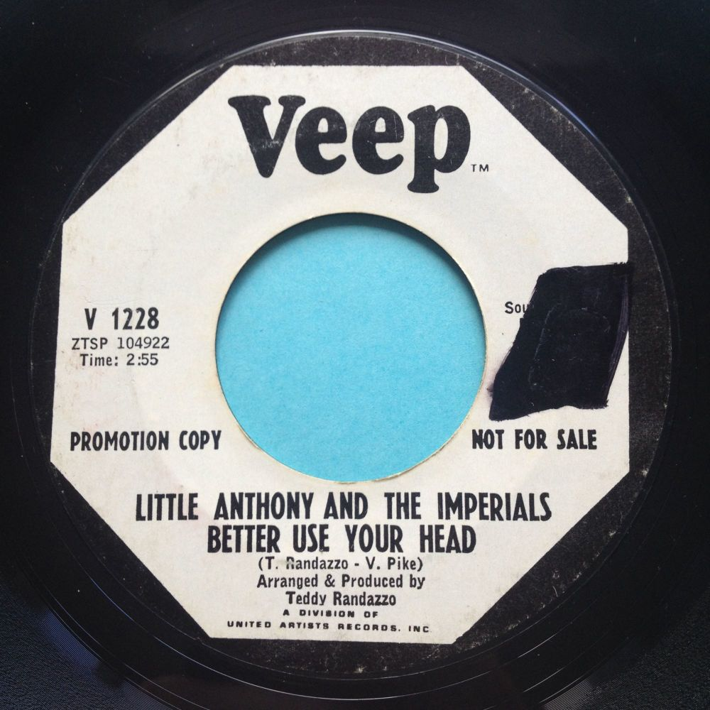 Little Anthony & the Imperials - Better use your head - Veep promo - VG+
