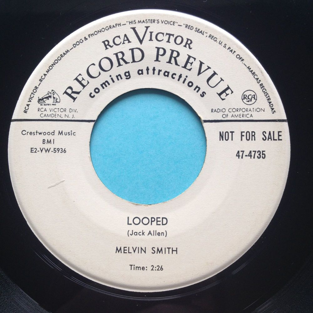 Melvin Smith - Looped - RCA Victor promo - Ex