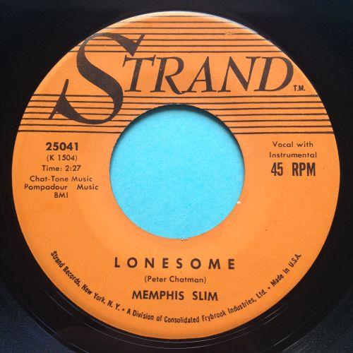 Memphis Slim - Lonesome - Strand - Ex