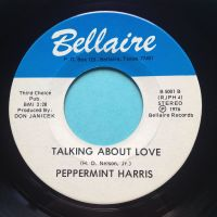 Peppermint Harris - Talking about love - Bellaire - Ex