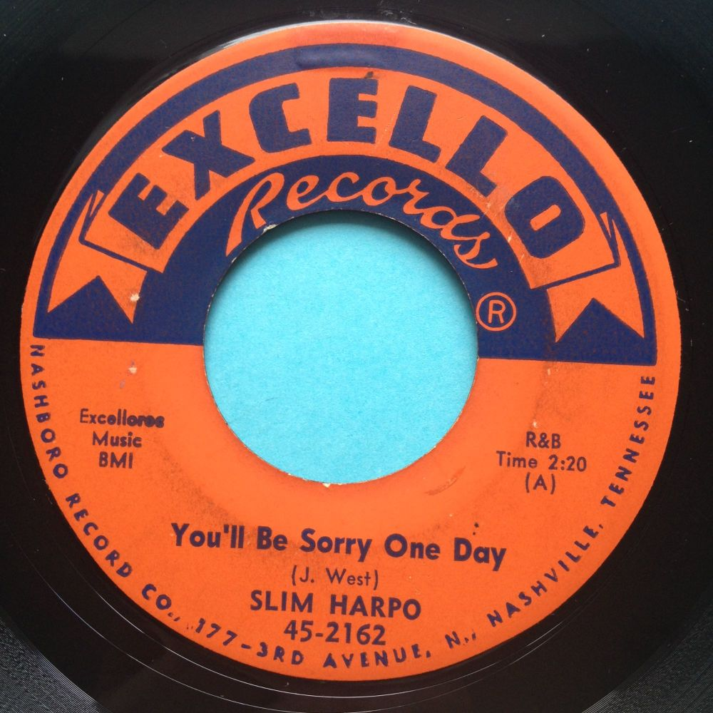 Slim Harpo - You'll be sorry one day - Excello - Ex