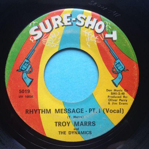 Troy Marrs - Rhythm Message - Sure-Shot - VG+