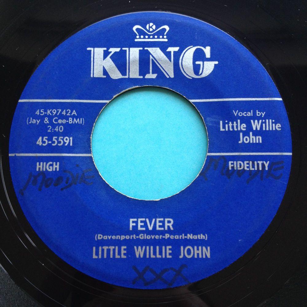 Little Willie John - Fever (strings version) - King - Ex- (wol)