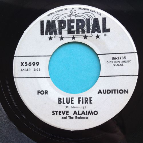 Steve Alaimo - Blue Fire - Imperial promo - Ex