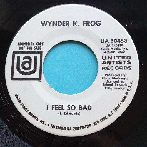 Wynder K Frog - I feel so bad - UA promo - Ex-