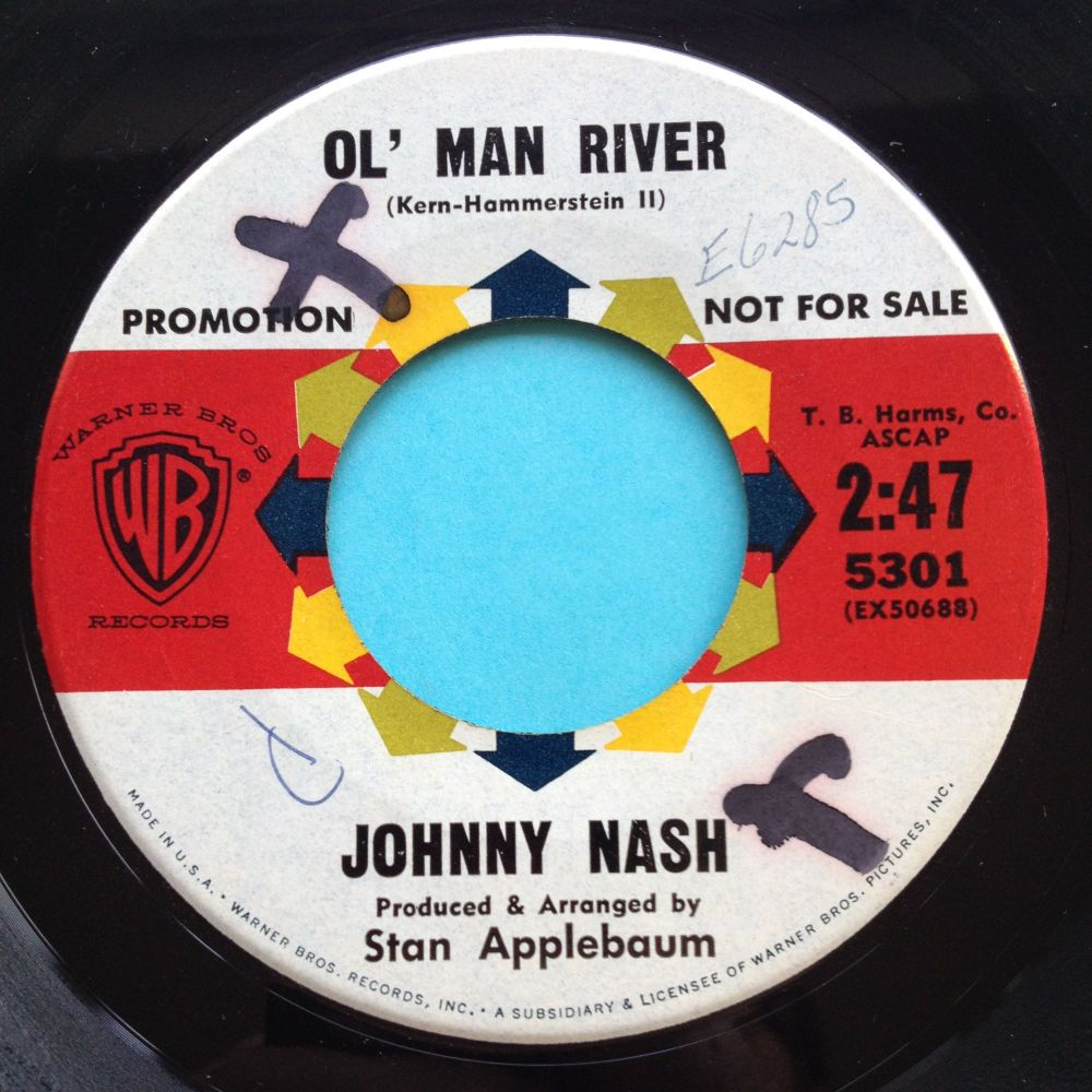 Johnny Nash - Ol' Man River - WB promo - Ex (wol)