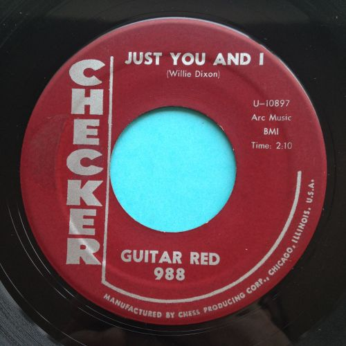 Guitar Red - Just you and I - Checker - Ex-