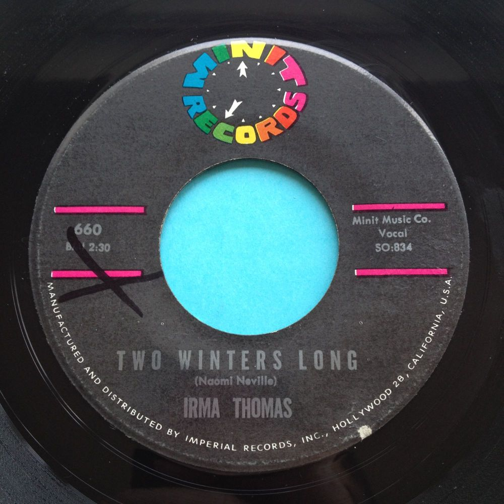 Irma Thomas - Two winters long - Minit - Ex- (xol)